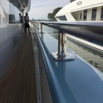 Tinting and Paint protection film on a mega yacht 6