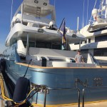Tinting and Paint protection film on a mega yacht 7