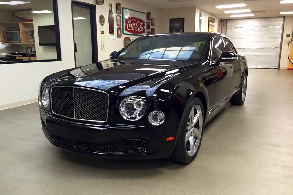 Auto Tinting for a Bentley Mulsanne