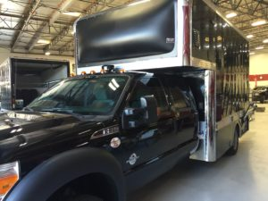 Race Support Trucks Get Ceramic Window Tint to Stay Cool 2