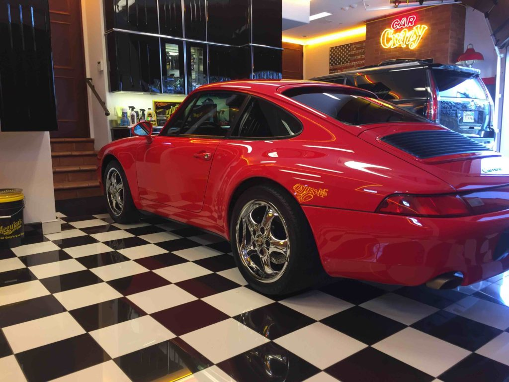 Automotive Industry Legend Barry Meguiar Has Porsche Tinted by Sundial Window Tinting 2