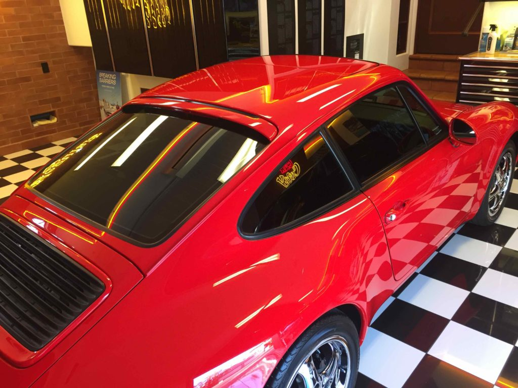 Automotive Industry Legend Barry Meguiar Has Porsche Tinted by Sundial 3