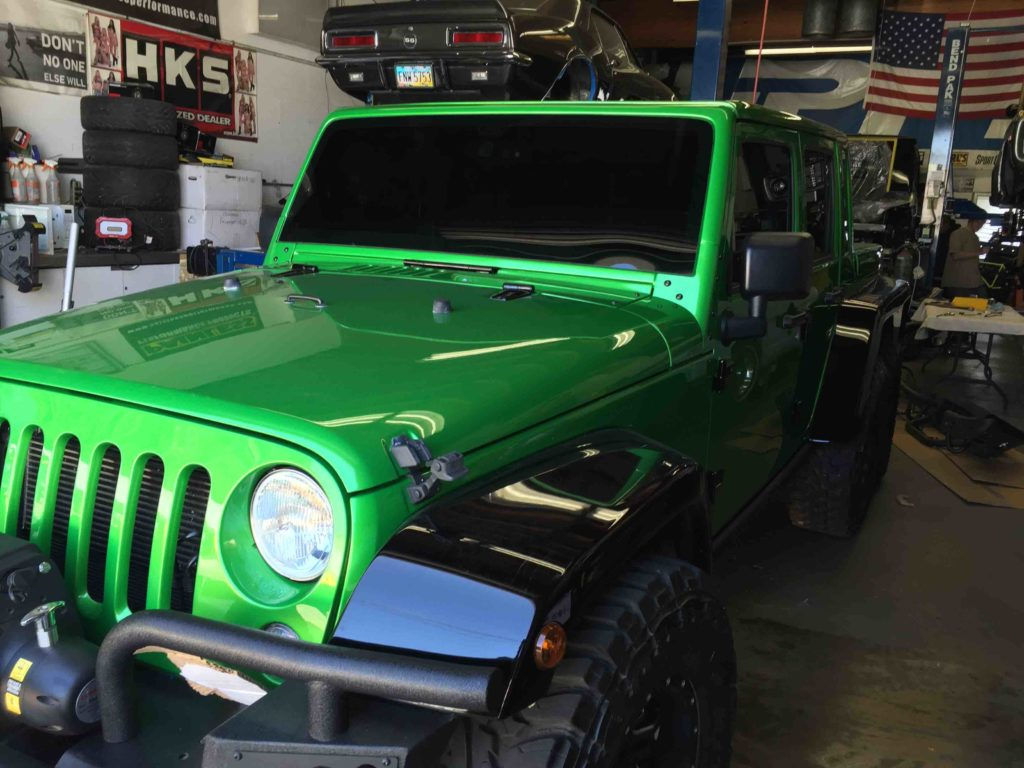 Unique 6x6 Jeep Gets Upgraded with Llumar ATC Window Tint